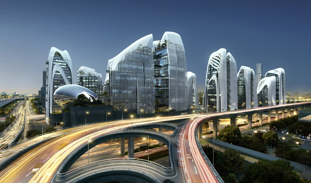 4. MAD_12004_Nanjing Zendai Himalayas Center_i_04_rendering_view from Nanjing South Station